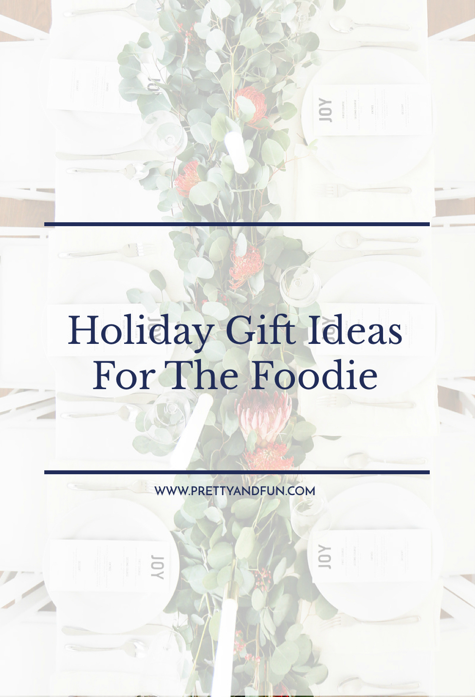 The Best Holiday Gift Ideas for the Foodie.